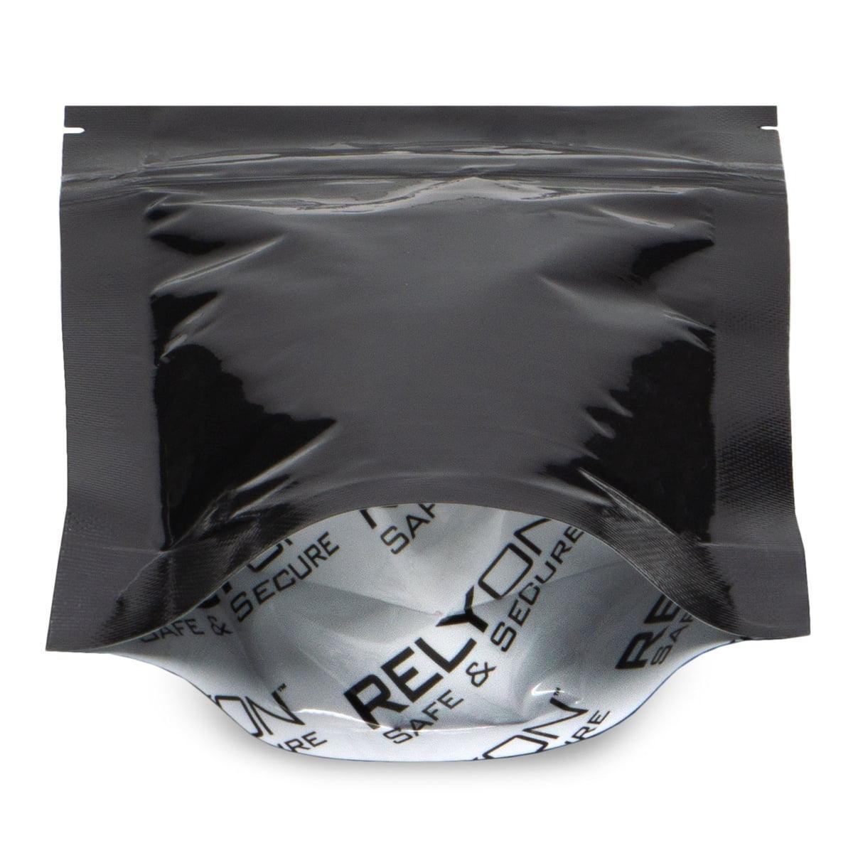 2178 Black Child Resistant 3.75×6×2 (1/8 oz) – 100 Pack