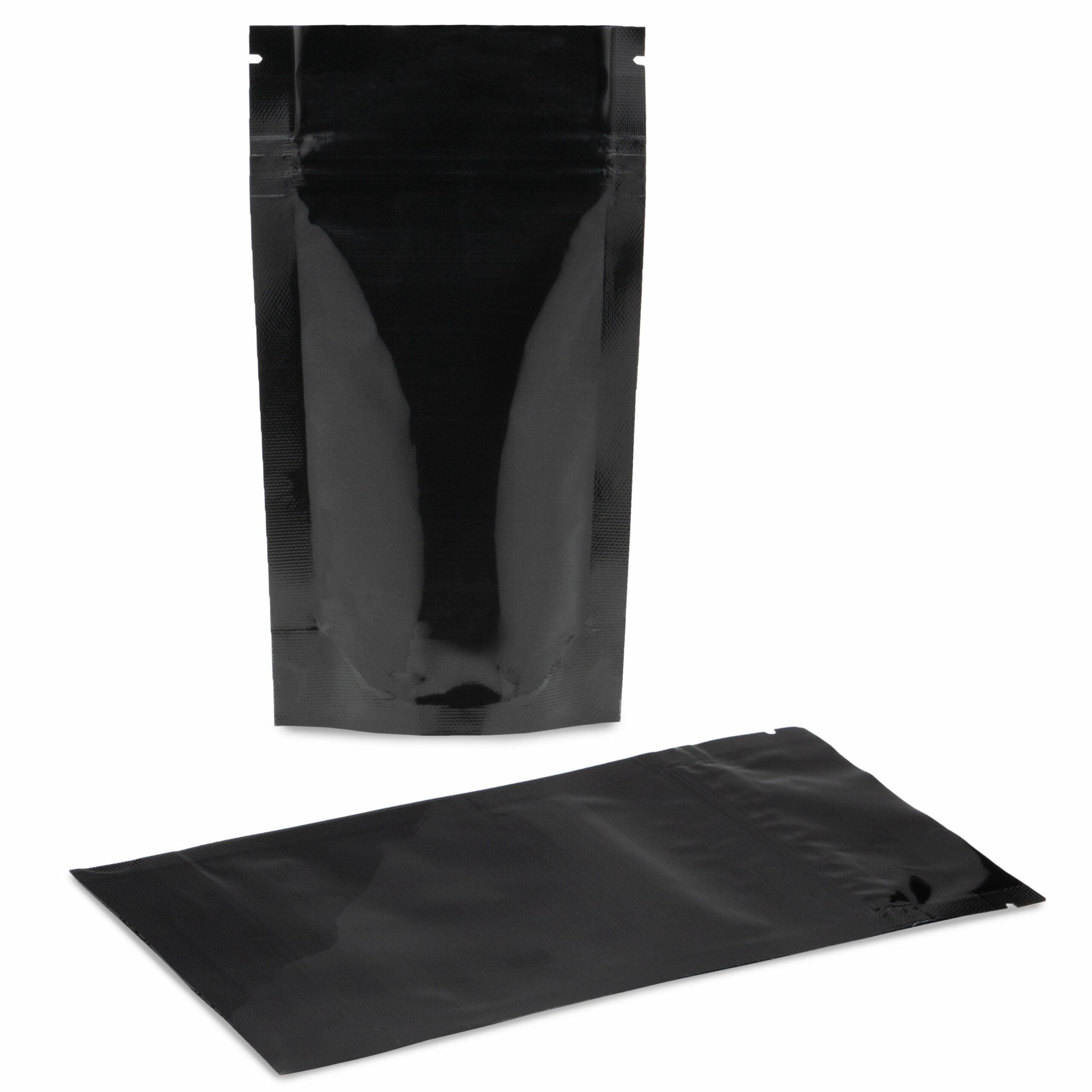 CareBlack Child Resistant 4×7.25×2 (1/4 oz) – 100 Pack
