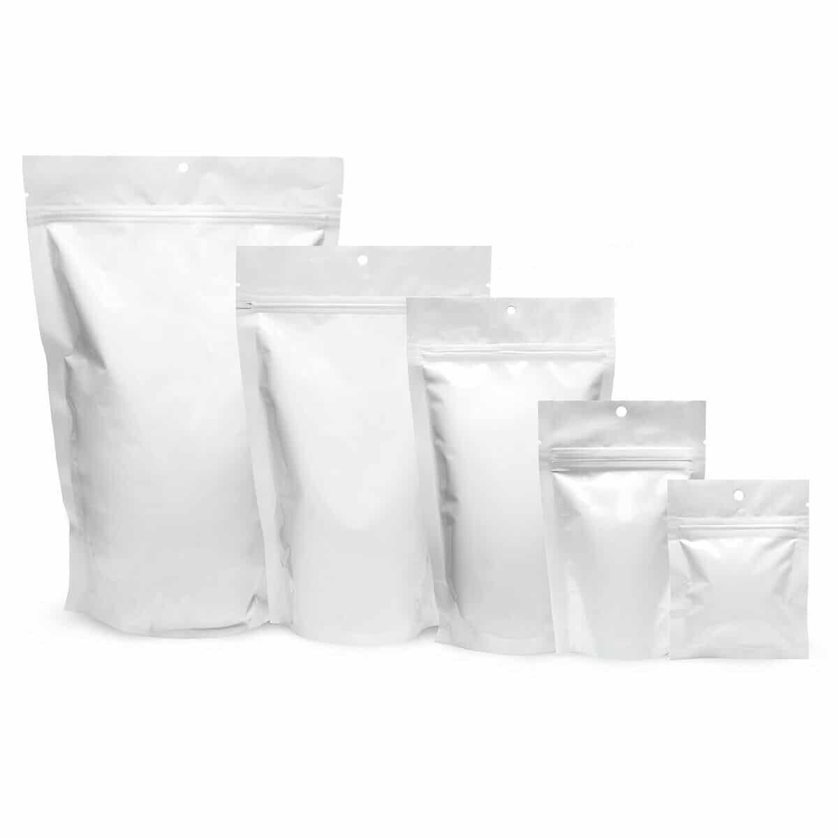 CareWhite Stand Up Pouches and Lay Flat Bags