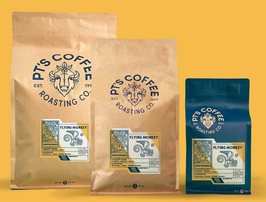 PT's Coffee Bags