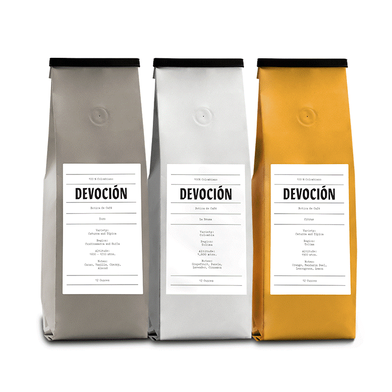 Devocion Coffee Bags