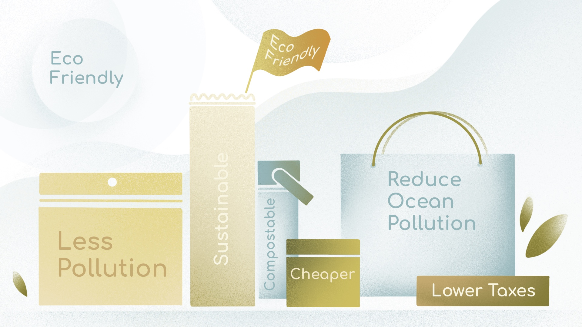 Eco friendly infographic 1 The Pros and Cons of Eco-Friendly Packaging and Why It Pays to Make the Switch